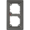 Scheda Tecnica: Mobotix 1 Module Double fRAMe for TX24MX - 131 x 233 x 18 mm, dark gray