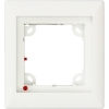 Scheda Tecnica: Mobotix 1 Module Single fRAMe for TX24MX - 131 x 143 x 18 mm, white