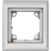 Scheda Tecnica: Mobotix 1 Module Single fRAMe for TX24MX - 131 x 143 x 18 mm, silver color