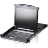 "Scheda Tecnica: ATEN 16 Port Kvm With 17"" LCD, Support Ps/2,USB, Sun -"