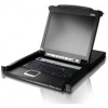 "Scheda Tecnica: ATEN 8-port 17"" LCD Kvm Switch (USB Ps/2 VGA) With USB - Peripheral Port Tastiera Inglese"