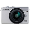 "Scheda Tecnica: Canon EOS M100 24.2mpx 10x Zoom 3.2"" - Grey Body 22.3x14.9mm"