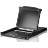 "Scheda Tecnica: ATEN 8 Port Kvm With 17"" LCD, Support Ps/2,USB, Sun - - Tastiera Inglese"