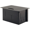 Scheda Tecnica: Kramer TBUS-10XL(B) Enclosure - Black anodized aluminum Top - Table Mount Modular Multi–Connection Solution