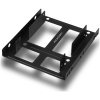 "Scheda Tecnica: Chieftec CMR-125 - PCI slot bezel hard drive caddy on 2x 2.5"" SATA HDD"