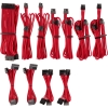 Scheda Tecnica: Corsair Premium Pro Sleeved Cable-set (gen 4) - Rot